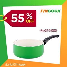 Jual Panci Saucepan FINCOOK CSP1603 Green 16cm