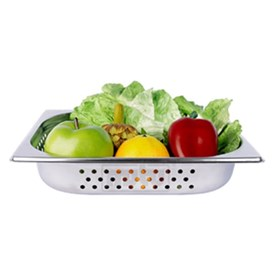 Jual Food Pan Berlubang Stainless Steel MUTU 1/2 10CM PAN-12100P
