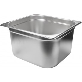 Jual Food Pan Stainless Steel PAN 1/2 20CM MUTU PAN 12200