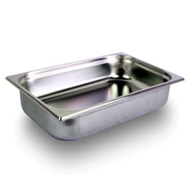 Jual Food Pan Stainless Steel MUTU 1/4 10CM PAN-14100