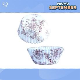 Jual Kertas Cupcake Motif Floral DRAGON PACK 4.5CM GF-Floral