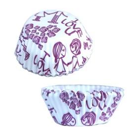 Jual Kertas Cupcake Motif Floral DRAGON PACK 4.5CM GF-Love