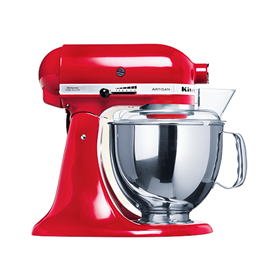 Jual Stand Mixer Artisan KITCHENAID 4.8Liter Empire Red