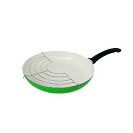 Jual Penggorengan Ceramic FINCOOK CFP2403RGN Hijau 24Cm Rak