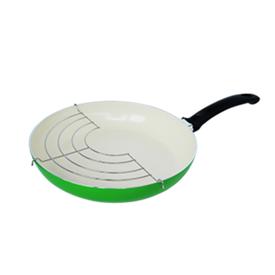 Jual Penggorengan Ceramic FINCOOK CFP2603RGN Hijau 26Cm Rak