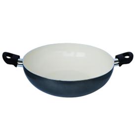 Jual Wajan Ceramic FINCOOK CW3003TF Abu-abu 30Cm