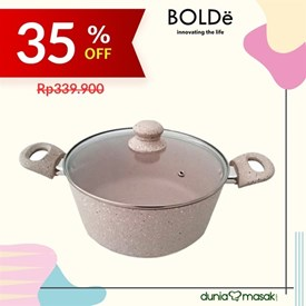 Jual Panci BOLDE 24 CM Pots 2 New ( Handle )