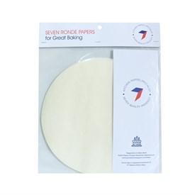 Jual Kertas Roti Baking Paper SEVEN Seven Ronde 20cm