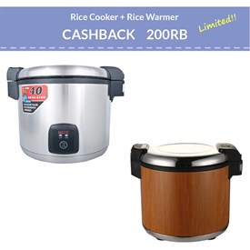 Jual Electric Rice Warmer WISE XBG200-10G-220-A dan ELECTRIC RICE COOKER WISE CFXB138-195XG-A