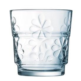 Jual Gelas LUMINARC Funny Flowers Mixer - 25cl - Clear - (AH9651) - 6pcs