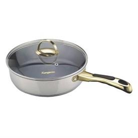 Jual Wajan dan Penggorengan KANGAROO Frying Pan KG 168 M