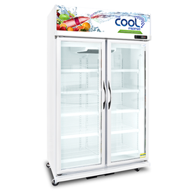 Jual Kulkas Upright Showcase Cooler THE COOL ALEX 2P LED