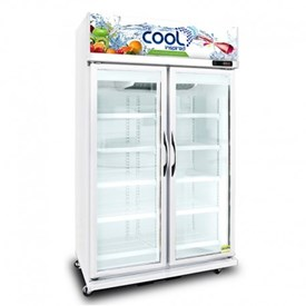 Jual Kulkas Upright Showcase Cooler THE COOL ALEX 2P Jumbo LED