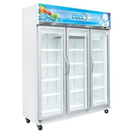 Jual Kulkas Upright Showcase Cooler THE COOL ALEX 3P Jumbo LED
