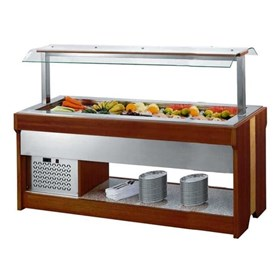 Jual COUNTER TOP SALAD CASE SALAD BAR M-H1900FL5T GEA