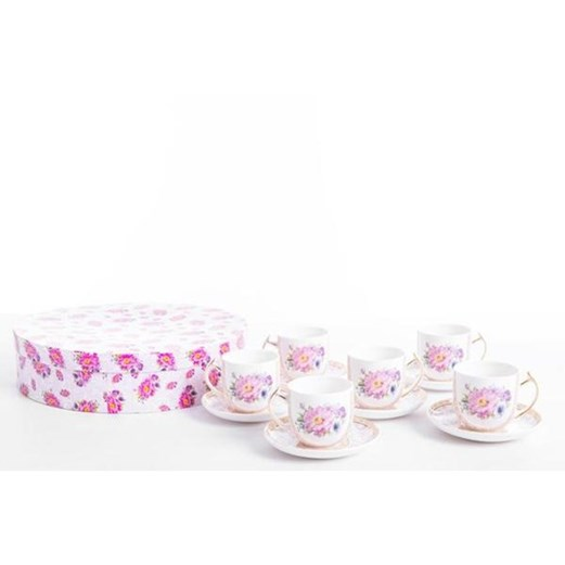 Cangkir Teacup Shaby Chic CAPODIMONTE 12pcs