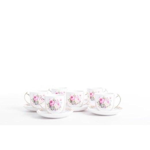 Cangkir Tea Cup Biru Muda CAPODIMONTE 6set