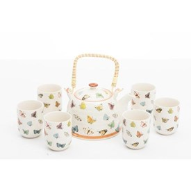 Jual Tea Set Jepang CAPODIMONTE ABB6
