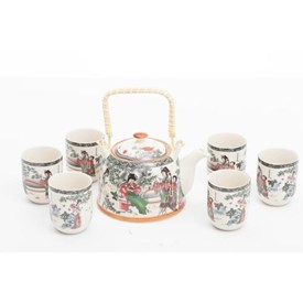 Jual Tea Set Jepang CAPODIMONTE ABDF6