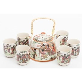 Jual Tea Set Jepang CAPODIMONTE ABMF6