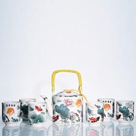 Jual Tea Set Jepang CAPODIMONTE AB05