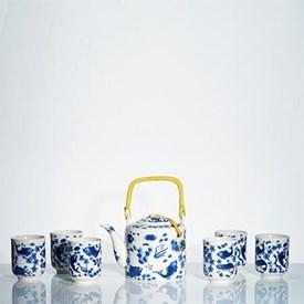 Jual Tea Set Jepang CAPODIMONTE AB01 NEW