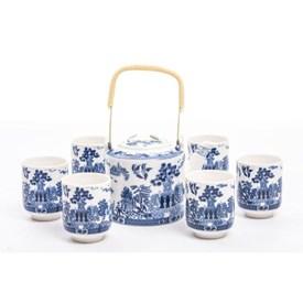 Jual Tea Set Jepang CAPODIMONTE AB08