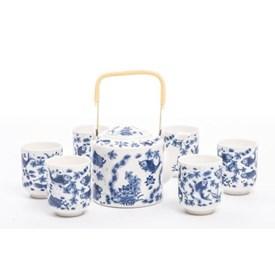 Jual Tea Set Jepang CAPODIMONTE AB01