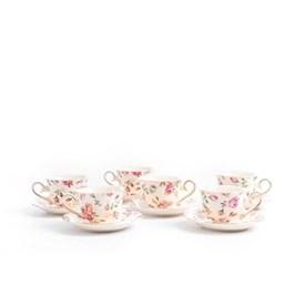 Jual Tea Cup Espresso CAPODIMONTE RLS11669-4-C33A 6 SET