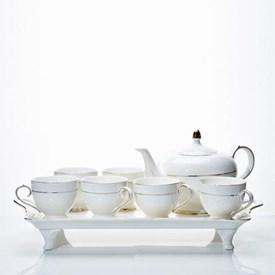 Jual Tea Set Gold Line CAPODIMONTE LSH-JX-01