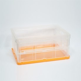 Jual Wadah Penyimpanan Serbaguna VICTORY Folding Small Orange