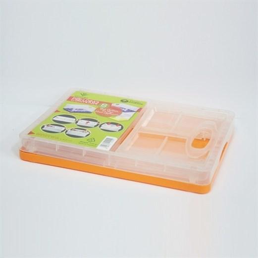 Wadah Penyimpanan Serbaguna VICTORY Folding Small Orange