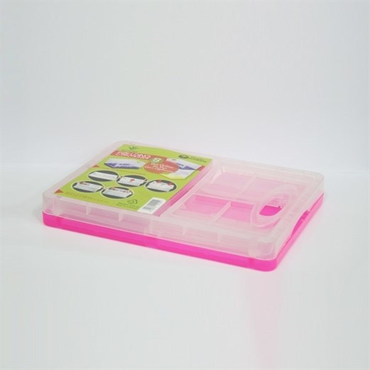 Wadah Penyimpanan Serbaguna VICTORY Folding Small Pink
