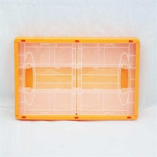 Wadah Penyimpanan Serbaguna VICTORY Folding Medium Orange