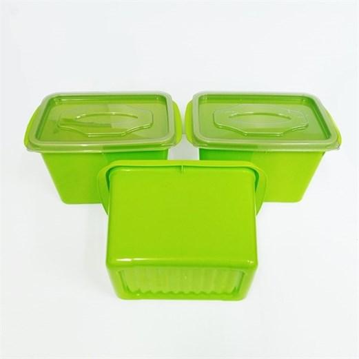 Wadah Penyimpanan Makanan VICTORY Grey Green 1000ml