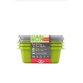Jual Kotak Makan VICTORY Grey Green 500ml