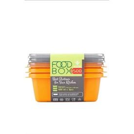 Jual Kotak Makan VICTORY Grey Orange 500ml