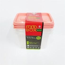 Jual Kotak Makan VICTORY Peach 500 ml