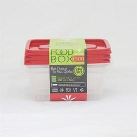 Jual Kotak Makan VICTORY Red 500 ml