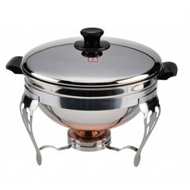 Jual Pemanas Makanan Chafing Dish MASPION Deep Soup Bowl 24cm