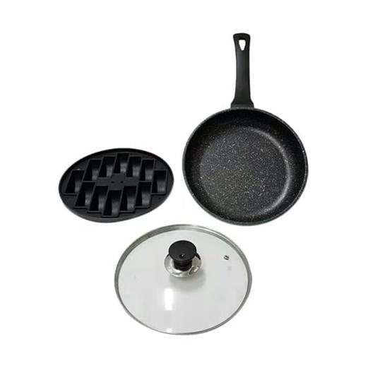OTAZA JET SET 2 IN 1 PUKIS MAKER AND FRY PAN