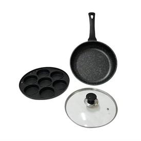 Jual Loyang Cetakan Kue Lumpur Apem Pancake Martabak - OTAZA JET SET 2 IN 1