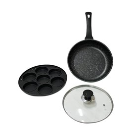 Jual OTAZA Jet Set 2 In 1 Pancake Maker and Fry Pan