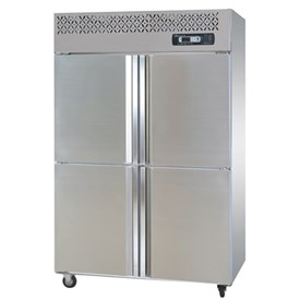 Jual Kulkas Upright Freezer Stainless Steel STARCOOL SLLD4-1000F 4 Door