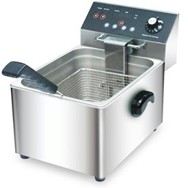 Jual Digital Counter Top Electric Fryer WISE WFT-8L-C4