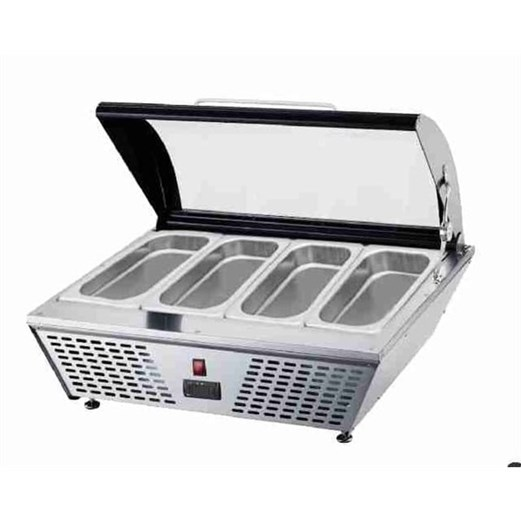 Jual Mesin Gelato Showcase Counter Top GEA RTD-67L
