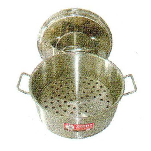 Jual Panci Sauce Pot ZEBRA With Steaming Plate 161037