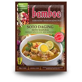 Jual Bumbu Masak BAMBOE Soto Daging (Soto Madura)