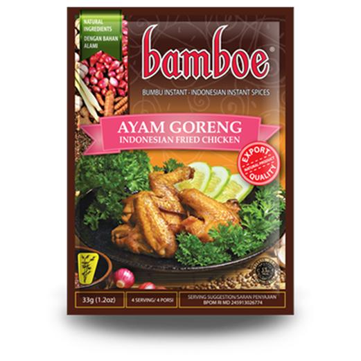 Jual Bumbu Masak BAMBOE Ayam Goreng
