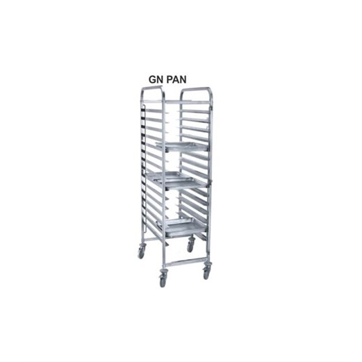 Jual Trolley Bakery Stainless GETRA GNT-15
